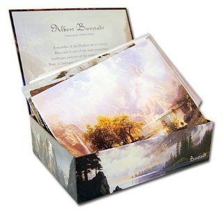 Shop Albert Bierstadt   Box Set of 20 Assorted Note Cards and Patterned Envelopes at the  Home D�cor Store. Find the latest styles with the lowest prices from Laurel Ink