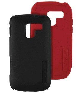 Incipio ECO Silicrylic Case & Gel for Samsung Galaxy Exhilarate SGH I577   Black & Red Silicone Cell Phones & Accessories
