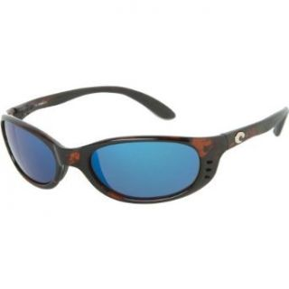 Costa Del Mar Stringer 580 Sunglasses Tortoise_Blue Mirror/Glass One Size Shoes