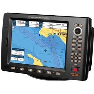 "STANDARD STD CP590 / Chart Plotter, MFG# CP590, 12"" color LCD, external GPS antenna, with pre loaded charts for US, Canada, Mexico, Caribbean, and Central America. Optional C Map Max, fishfinder, radar, and AIS. Computers & Accessories"