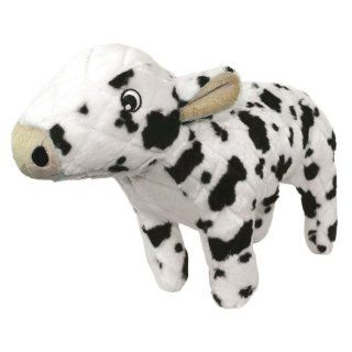 Mighty Cassie Cow Farm Dog Toy, White and Black  Pet Chew Toys