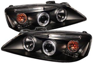Spyder Auto PRO YD PG605 HL BK Pontiac G6 2/4 Door Black Halo LED Projector Headlight with Replaceable LEDs Automotive