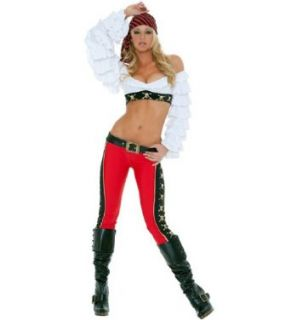 3WISHES 'Golden Treasure Costume' Sexy Pirate Costumes for Women 3WISHES Clothing