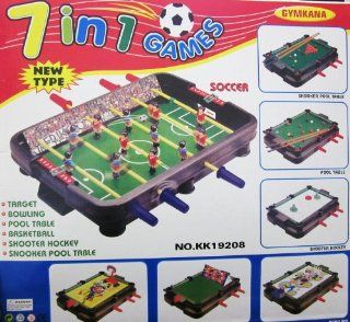 Kids Authority 7 in 1 Multi Game Table   Soccer/Snooker/pool and more Toys & Games