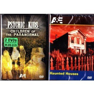 Psychic Kids Complete First Season Box Set , Haunted Houses  A&E Paranormal 2 Pack   3 Disc Collection Movies & TV