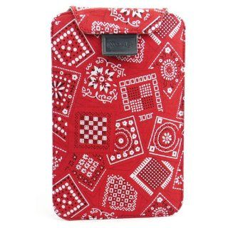 JAVOedge Bandana Flex Sleeve Case for Barnes & Noble Nook Color / Nook Tablet (Red) Computers & Accessories