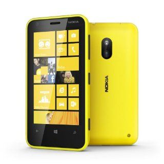 Nokia Lumia 620 Yellow (Factory Unlocked) 5mp Camera, Windows Phone 8 ,8gb , 5mp Specail Gift for Special One Fast Shipping Cell Phones & Accessories