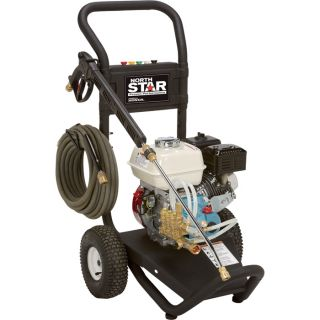 NorthStar Gas Cold Water Pressure Washer — 2.5 GPM, 3000 PSI, Model# 15781720  Gas Cold Water Pressure Washers