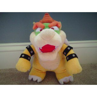 "Super Mario Plush   10"" Bowser Soft Stuffed Plush Toy Japanese Import Toys & Games"