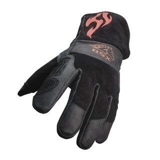 REVCO BSX Stick/MIG Welding Gloves By Revco   Model . BS50 L Size L   Welding Safety Gloves