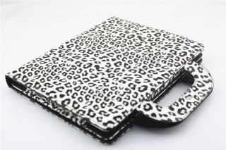 Nine States (High Quality) Fashion Leopard Print Folio PU Leather Case and Smart Cover for Apple iPad2 iPad3 iPad4 with Multi angle Flip Stand and Safe Snap Button  Automatically Wakes and Puts the iPad to Sleep (Handbag Design) Computers & Accessorie