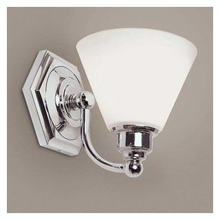 Norwell Lighting 8531 OPBN BN  Brushed Nickel Lighting Bathroom 1 Light Sconce Fixture   Wall Sconces
