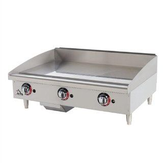 Star 636TSPF   36 Inch Star Max Heavy Duty Gas Griddle Freestanding Grills Kitchen & Dining