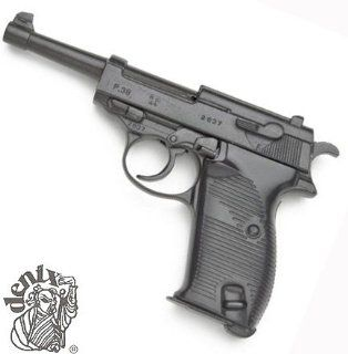 Pistol Replica WWII German P 38 Blued Replica