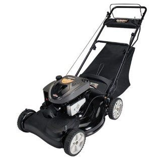Yard Machines 21 Inch 3 in 1 Deck with Briggs & Stratton 650 Series Engine Self Propelled Lawn Mower and Grass Collector 12AE469D029 (Discontinued by Manufacturer)  Walk Behind Lawn Mowers  Patio, Lawn & Garden