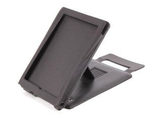DURAGADGET Genuine Black Leather Case / Stand For Sony PRS 650 Reader Touch Edition Electronics