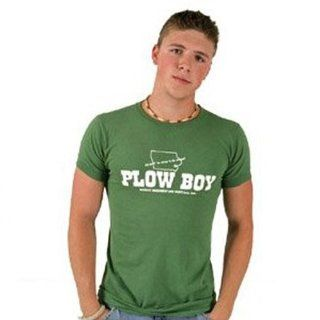 Plow Boy Athletic T Shirt Tee for Men