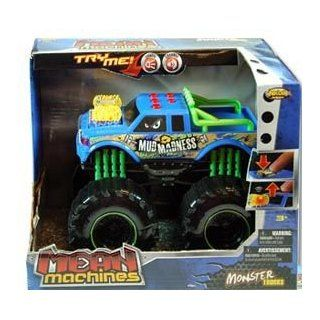 Mean Machine Battery Operated Monster Trucks Toys & Games