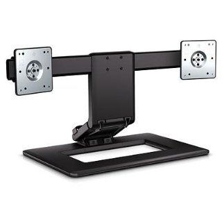 New Adjustable Dual Monitor Stand   AW664AA Computers & Accessories