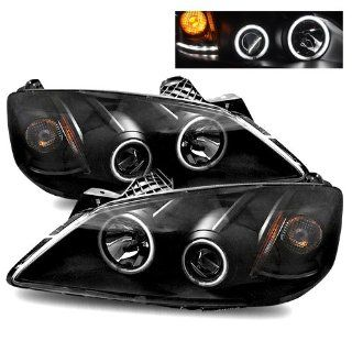Pontiac G6 Black CCFL Halo Projector Headlights /w Amber Automotive