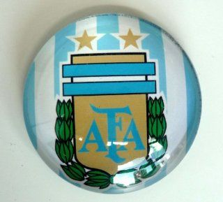 ARGENTINA LOGO EMBLEM BADGE FOOTBALL SOCCER MAGNET  Sports Related Magnets  Sports & Outdoors