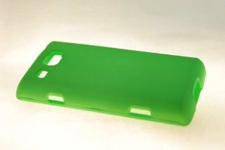 Samsung Focus Flash i677 Hard Case Cover for Neon Green Cell Phones & Accessories