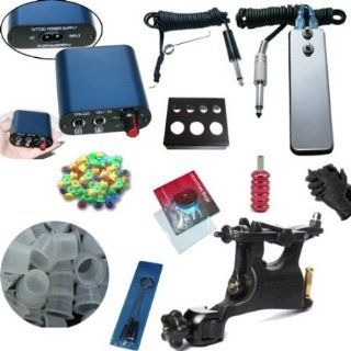 Hot 2014 Newest Tattoo Kit SWASHDRIVE WHIP Rotray Machine MINI Power Supply Health & Personal Care