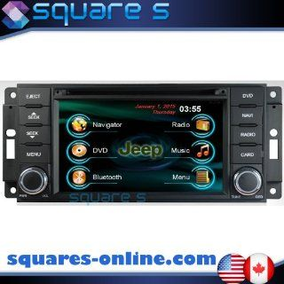 2007 2008 2009 2010 JEEP WRANGLER In dash GPS Navigation Radio AV Receiver SD USB CD DVD Player iPod/iPhone ready Bluetooth Hands free Touch Screen Steering Wheel Controls Multimedia Stereo Audio Video Deck w/ Digital TV Rear View Camera Option SQUARE S SS