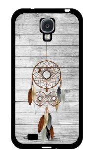 Dream Catcher on Wood Pattern RUBBER Samsung Galaxy S4 Case   Fits Samsung Galaxy S4 T Mobile, AT&T, Sprint, Verizon and International Cell Phones & Accessories