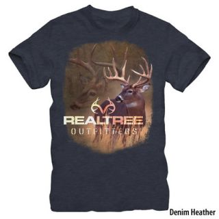Realtree Outfitters Mens 10 Pt. Buck Short Sleeve Tee 747704