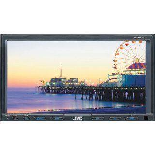 JVC KW AVX710 7 Inch In Dash Double DIN CD/DVD//iPod Bluetooth Ready Touchscreen Receiver  Vehicle Dvd Players