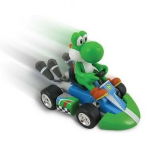 Super Mario Bros. Yoshi Small Radio Control Car, Green/Blue   Toy Remote Controlled Vehicles