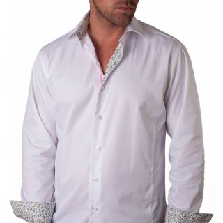Giorgio Bellini Bardolino Mens White Cotton Button front Shirt