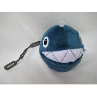 "5"" Official Sanei Chain Chomp Soft Stuffed Plush Super Mario Plush Series Plush Doll Japanese Import Toys & Games"