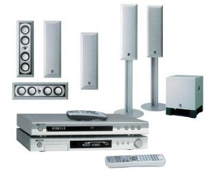 Yamaha YHT F1500 730 Watt 6.1 Channel Home Theater in a Box (Silver) (Discontinued by Manufacturer) Electronics
