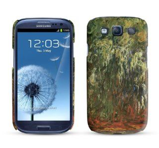 Samsung Galaxy S3 Case Weeping Willow Giverny 1926 Claude Monet Cell Phone Cover Cell Phones & Accessories