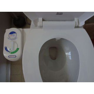 LUXE Bidet Vi 110 Fresh Water Spray Non Electric Mechanical Bidet Toilet Seat Attachment