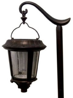 Alpan SGL 738FG 2 Brittania Hanging Solar Garden Lights, 2 Pack, Oil Rubbed Bronze   Landscape Path Lights