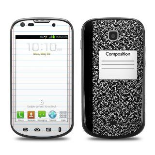 Composition Notebook Design Protective Decal Skin Sticker (Matte Satin Coating) for Samsung Galaxy Stellar SCH i200 Cell Phone Cell Phones & Accessories