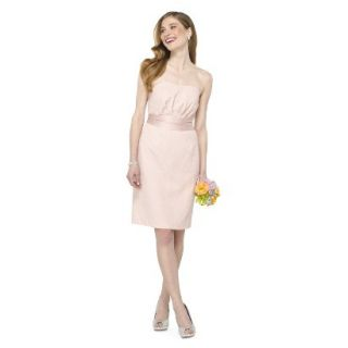 TEVOLIO Womens Lace Strapless Dress   Peach   10