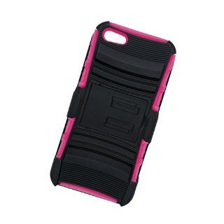 Vibe VAUIP5 742 BPNK Heavy Duty Swivel Holster Case   Retail Packaging   Pink Cell Phones & Accessories