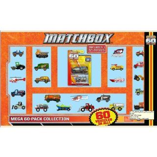 Matchbox Mega 60 Pack Die Cast Collection Toys & Games
