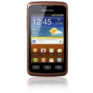 Samsung S5690 Galaxy Xcover IP67 Orange / Black Dust and Water Resistant Factory Unlocked GSM OEM Mobile Phone GT S5690 Cell Phones & Accessories
