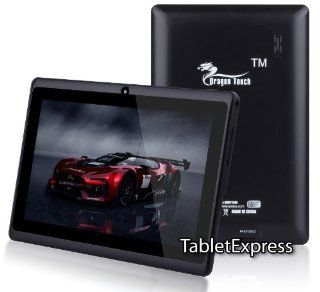 Dragon Touch® 7'' Black Google Android 4.2 Jelly Bean Allwinner A13 Multimedia Tablet MID PC, 4GB, Google Play Pre Installed, USB OTG, Supports Skype Video Chat Calling, Netflix Movies and Flash Player, A13 MID744B [by TabletExpress]  Tablet