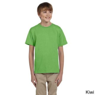 Fruit Of The Loom Fruit Of The Loom Youth Heavy Cotton Hd T shirt Green Size M (10 12)