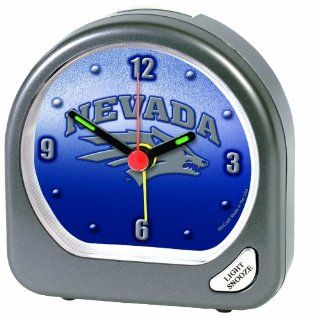 NCAA Nevada Wolf Pack Alarm Clock  Electronic Alarm Clocks  Sports & Outdoors