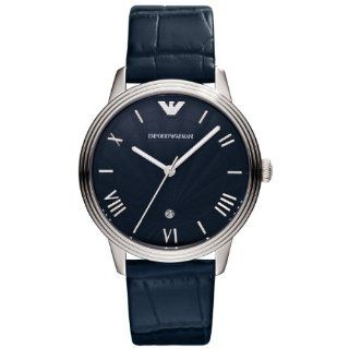 Emporio Armani AR1651 Mens Classic Blue Watch at  Men's Watch store.