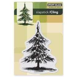 Penny Black Cling Rubber Stamp 4 X6 Sheet   Tannenbaum