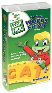Leap Frog   Talking Words Factory [VHS] Leapfrog Movies & TV