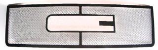 07 2013 GMC Sierra 1500 New Body Upper 1 PC Stainless Steel Chrome Mesh Grille Grill Insert Automotive